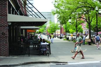 Market Square Dog Walking