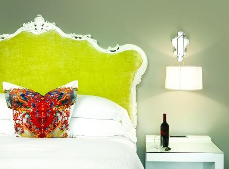 Kessler Bohemian Charleston Spec Room Bed Vignette